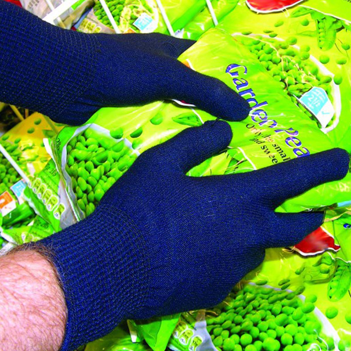 guantes para tratar congelados