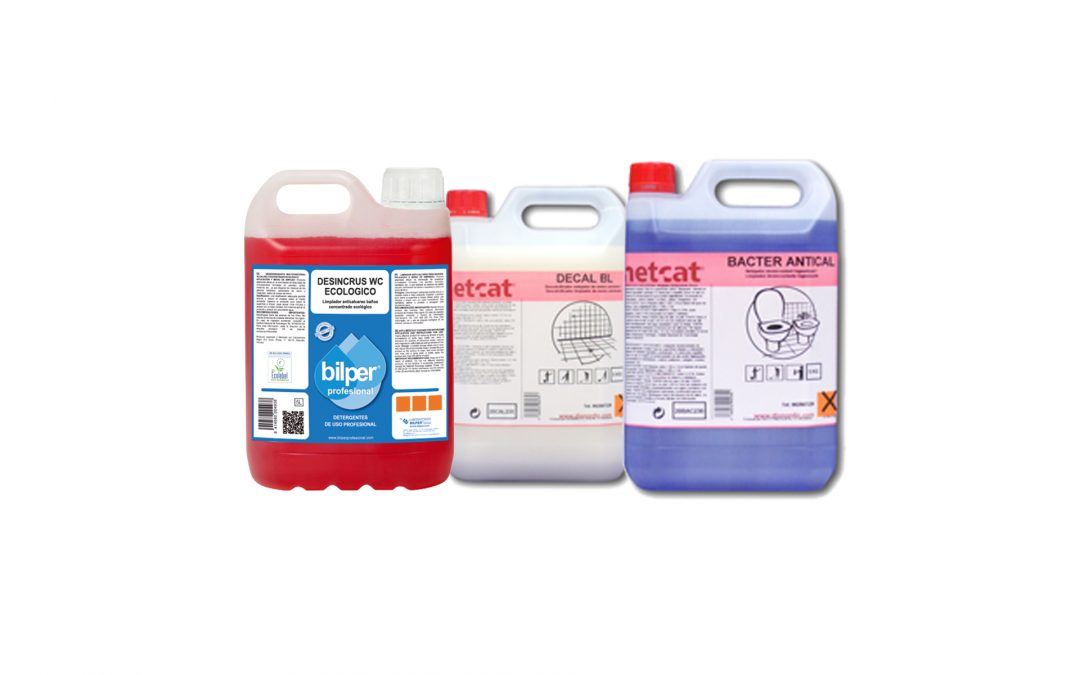 Productes químics anticalç per a la neteja de la piscina