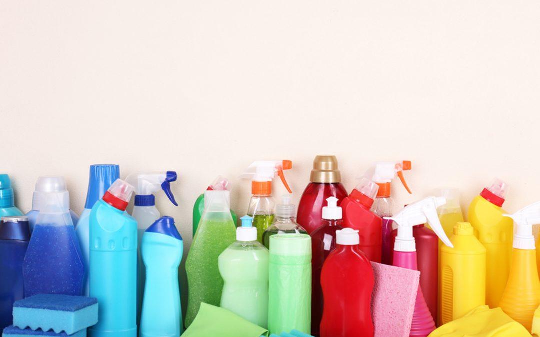 Productos químicos ecológicos para la limpieza y desinfección