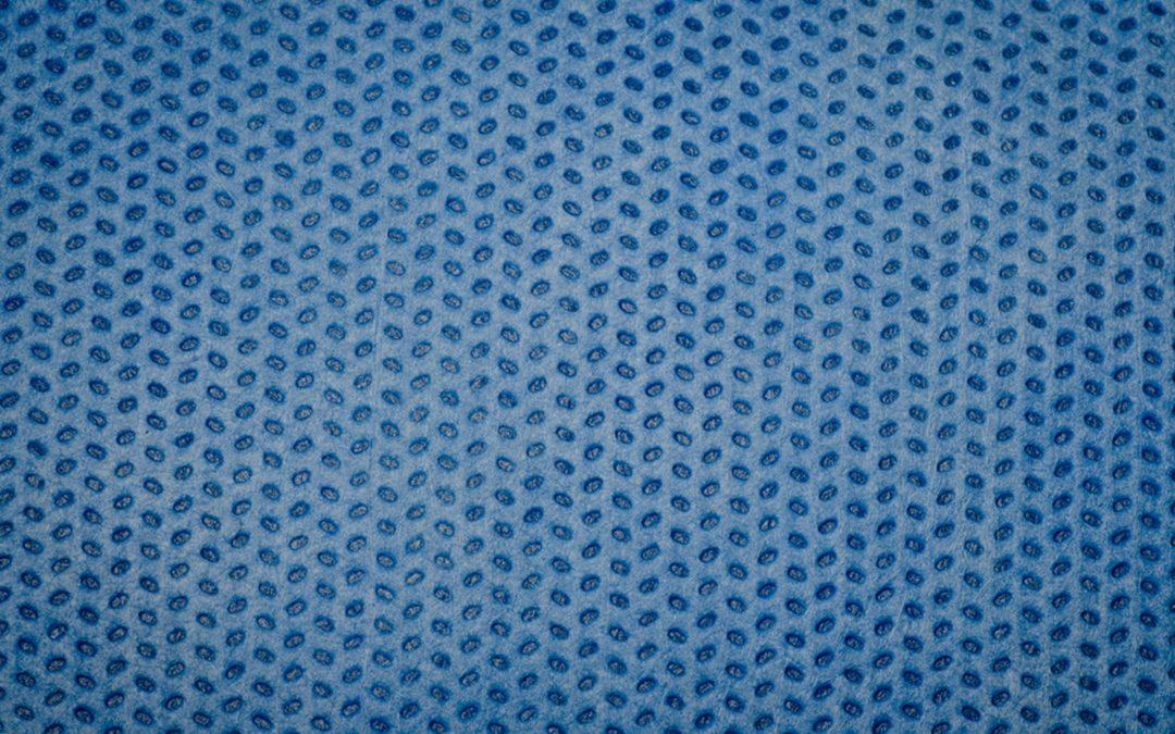 Paños de tejido no tejido con registro alimentario