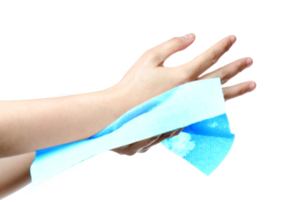 Cel·lulosa de color blau per a la indústria alimentària