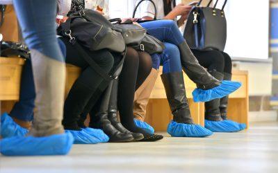 Cobre-sabates d'un ús contra els gèrmens