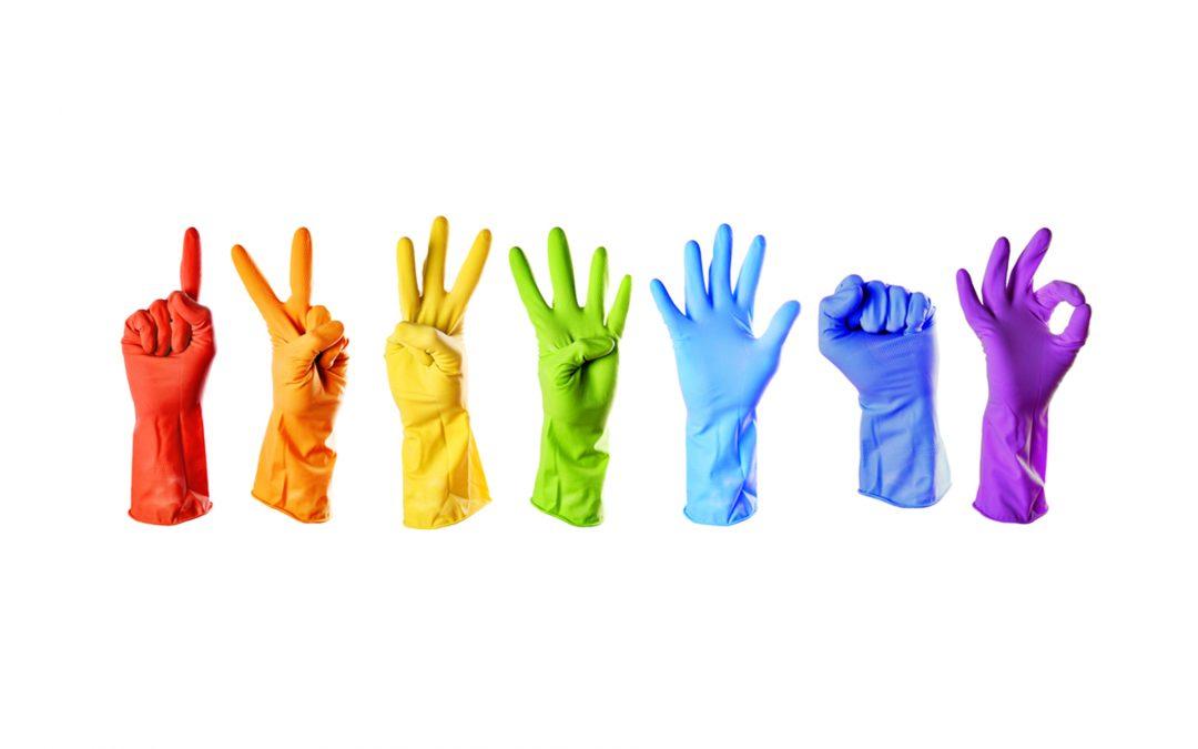 papelmatic que guantes proteccion personal elijo latex nitrilo vinilo infografia polipropileno