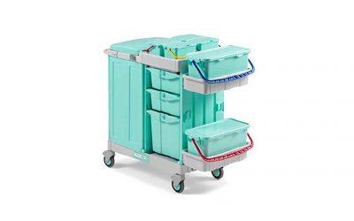 Carros de limpieza antibacterianos para hospitales