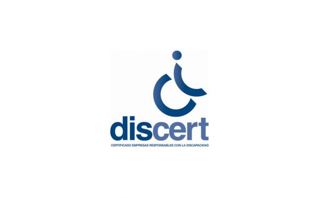 Papelmatic recibe el certificado Discert