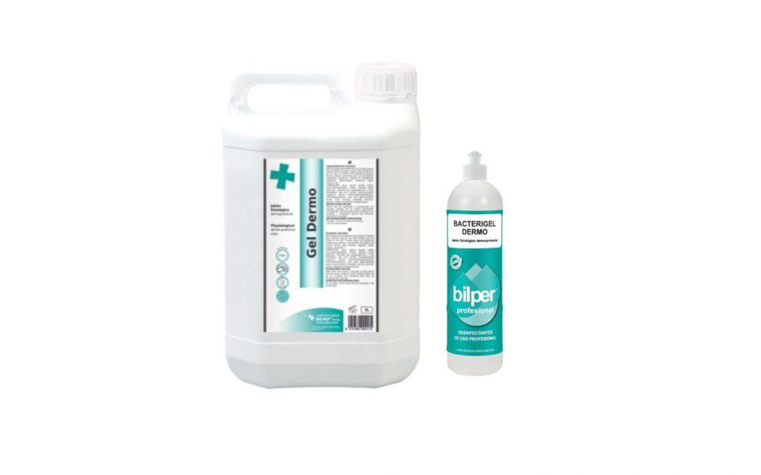 jabonfisiologico papelmatic bacterigel higiene hospitales centros sociosanitarios jabon pacientes gel dermo