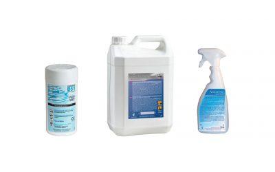 Productes per a la desinfecció de dispositius mèdics