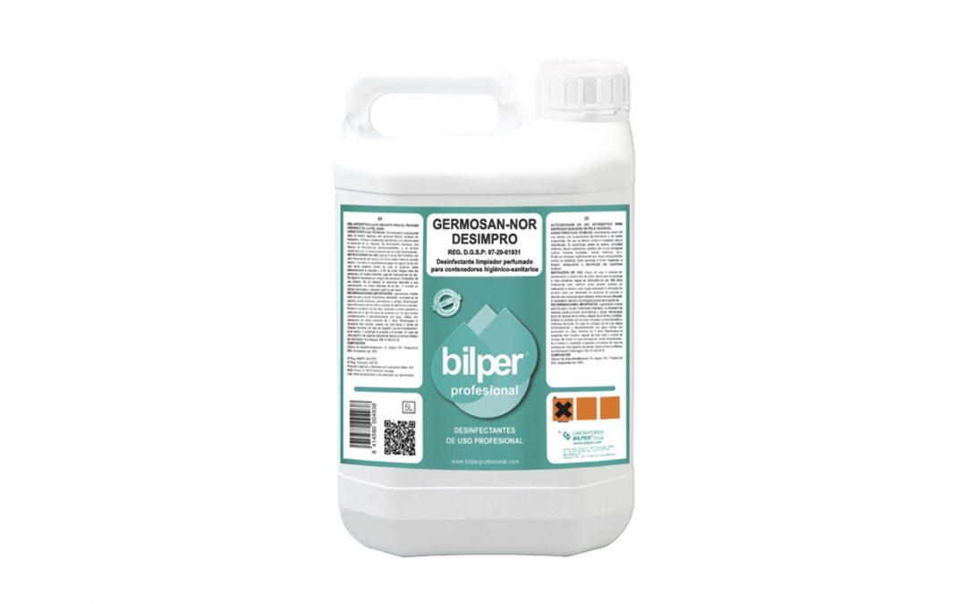 Germosan-Nor DESIMPRO, netejador desinfectant per a contenidors higiènics