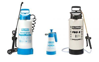 Pulverizadores especiales para químicos abrasivos