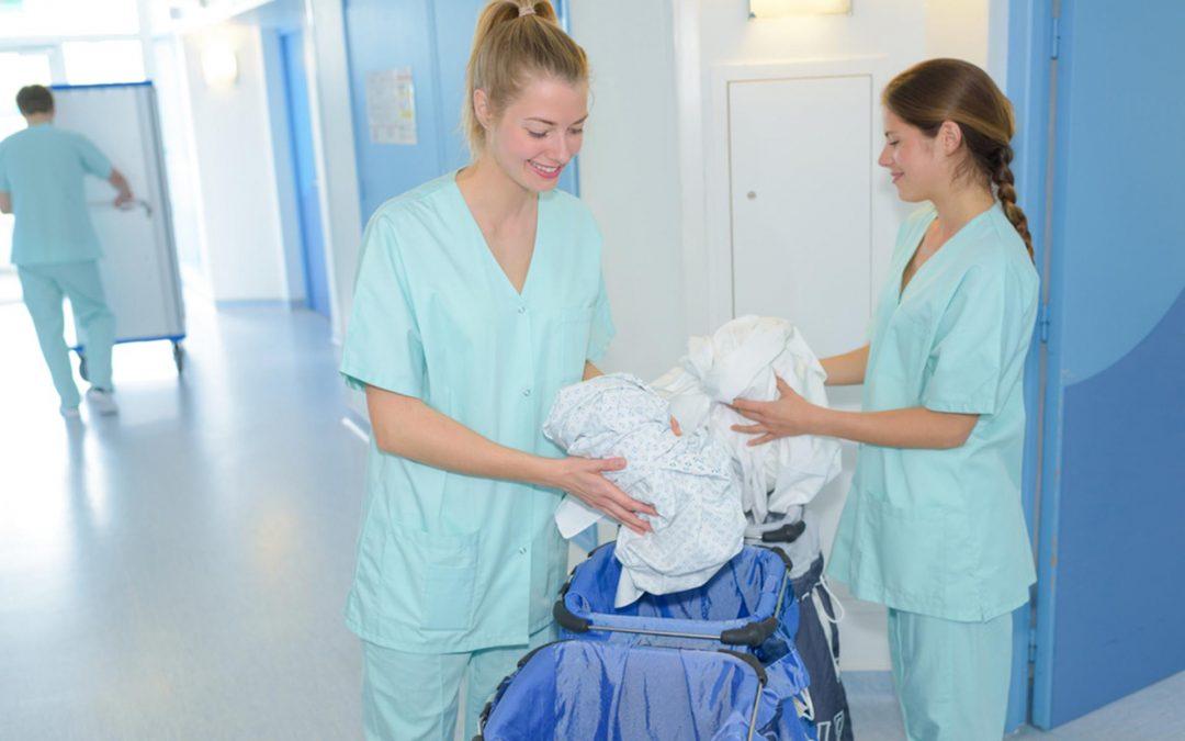 Infografia: Selecció de la roba hospitalària en carros de colors