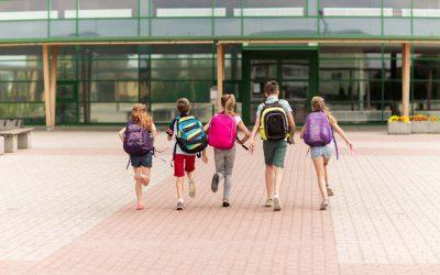 Guía de limpieza y desinfección en colegios