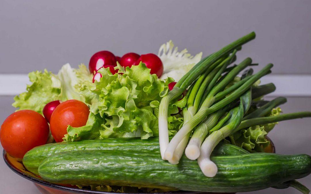 Desinfección de vegetales en la industria alimentaria