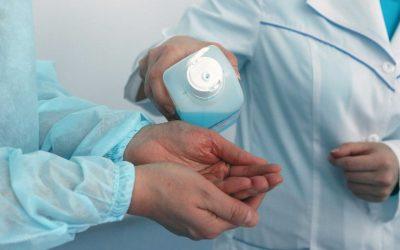 Composición de desinfectantes sanitarios: tipos y usos