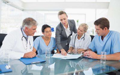 Delimitación de las zonas de riesgo en hospitales
