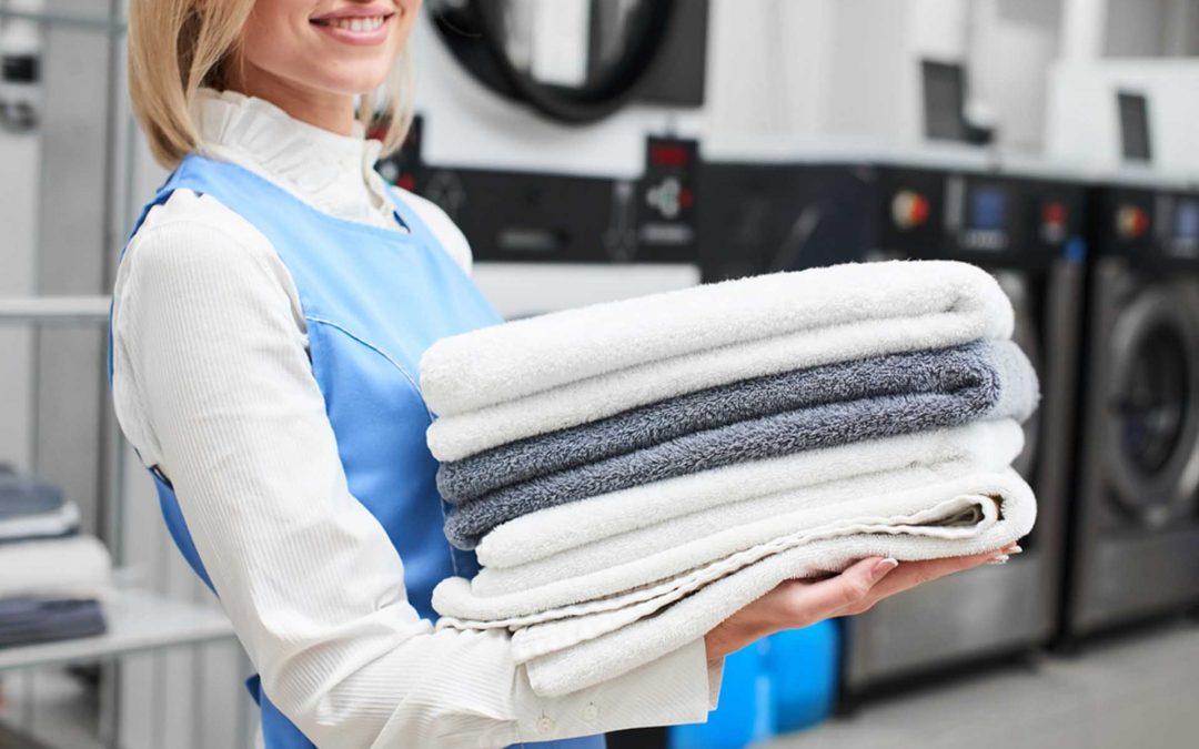 ¿Cómo lavar las toallas en la lavandería?