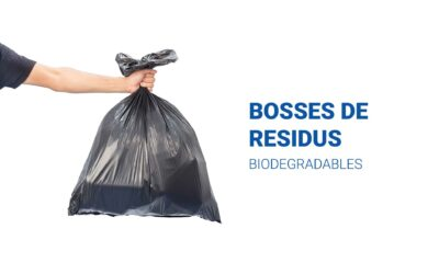 Bosses de residus biodegradables