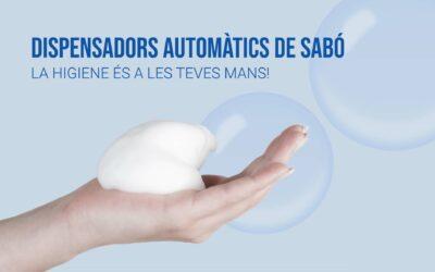 Infografia: Avantatges de la dispensació de sabó automàtica