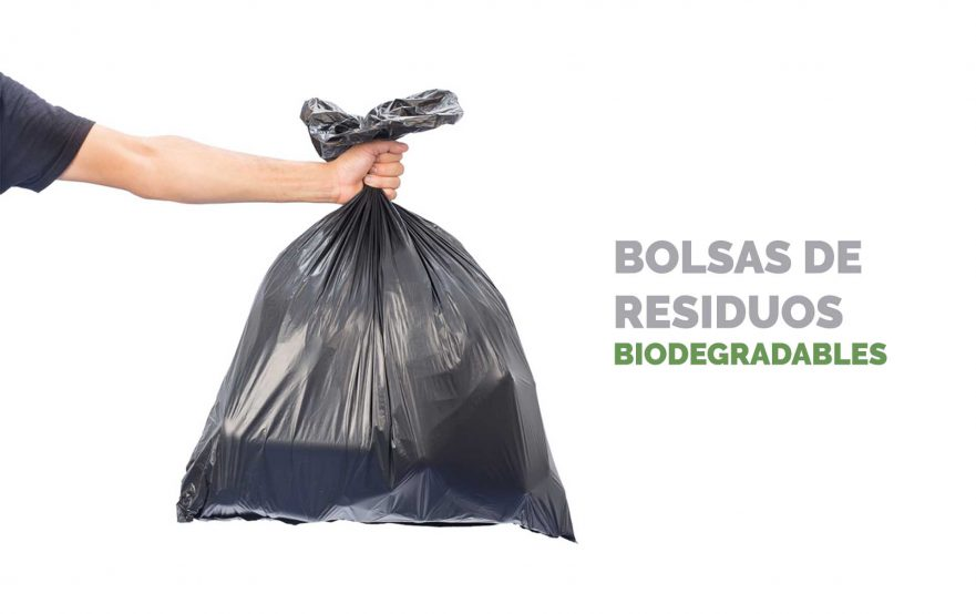 Bosses de residus biodegradables