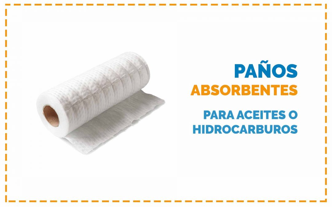 papelmatic higiene profesional paños absorbentes para aceites hidrocarburos
