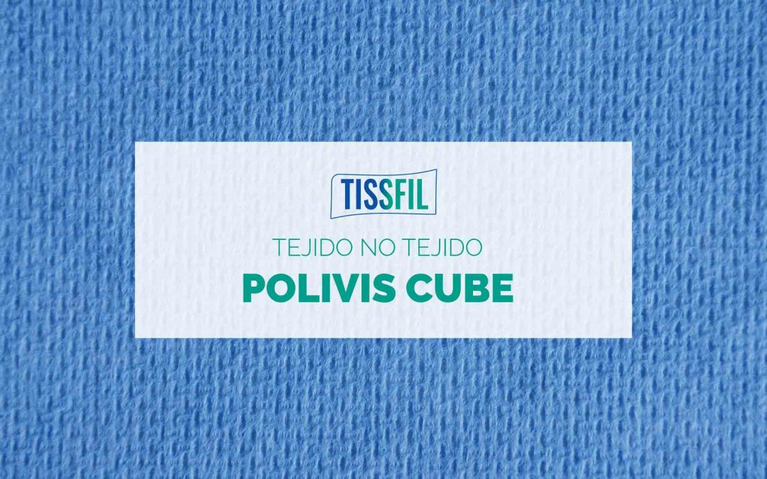 Tissfil Polivis Cube, draps de teixit no teixit per impregnar