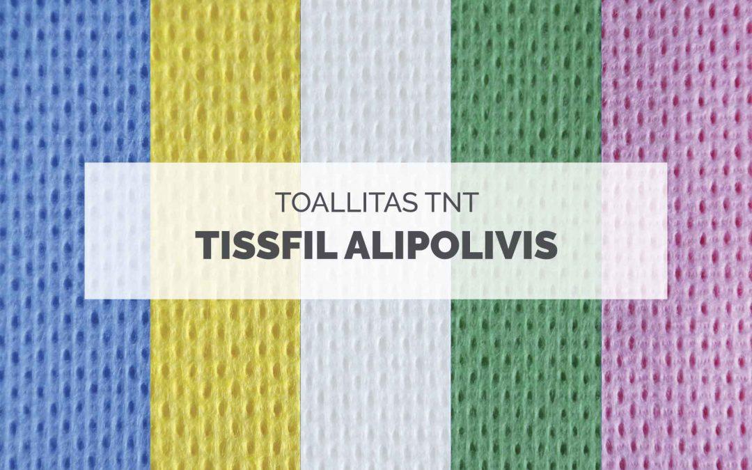 Toallitas Tissfil Alipolivis, tejido no tejido alimentario