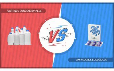 Estudi comparatiu: Netejadors ecològics Baula vs. Químics convencionals