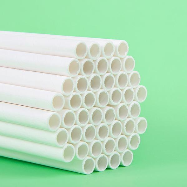 Pajitas de papel ecológicas