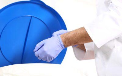 Com treure's els guants de manera segura?