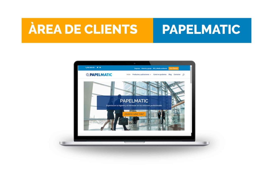 Presentem l'Àrea de Clients Papelmatic