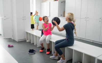 Gimnasos escolars: Dutxar-se després de fer educació física