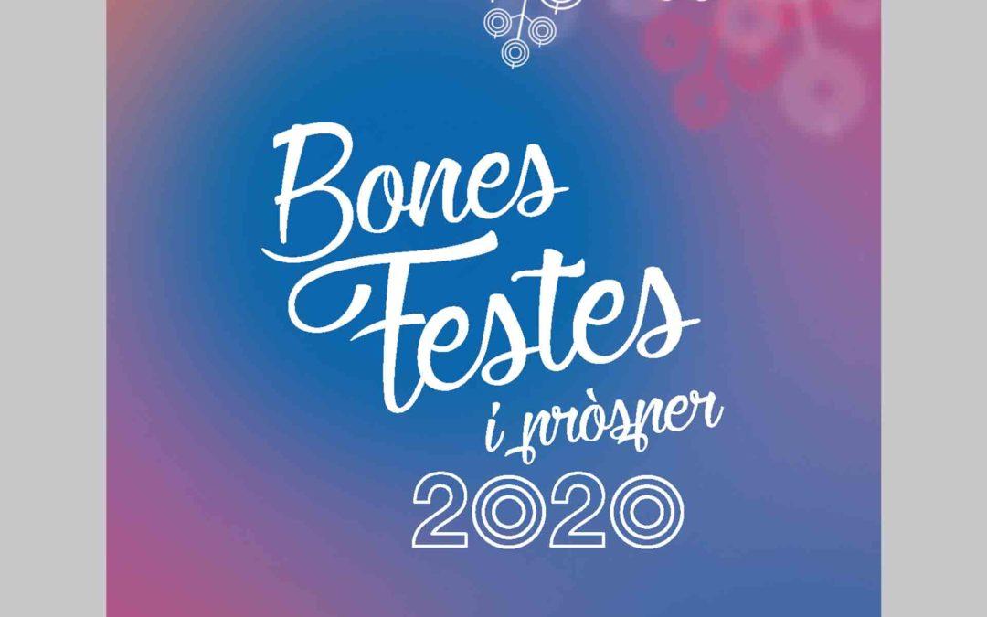 Bones festes i pròsper 2020!