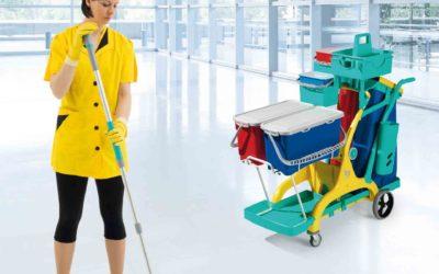 Quins són els avantatges de fer servir carros de neteja?
