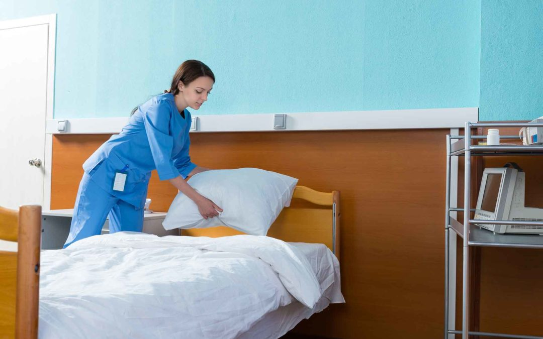 Higiene de las habitaciones de los centros sanitarios