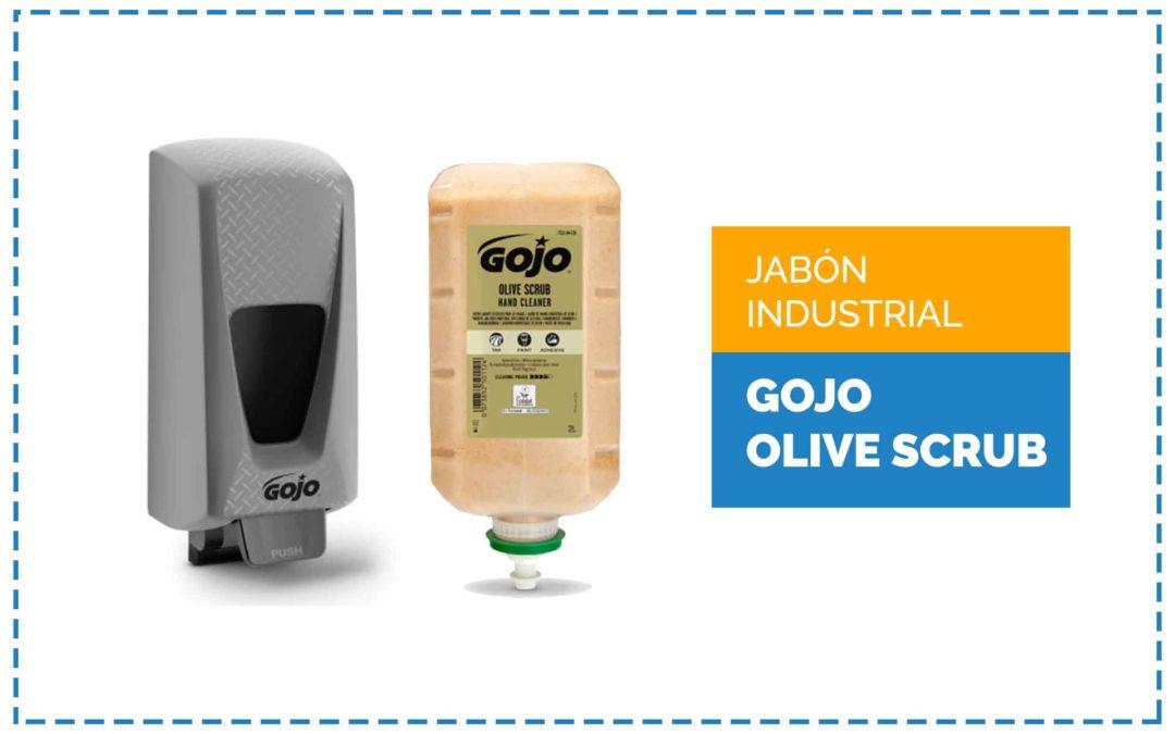 Sabó de mans industrial Gojo Olive Scrub