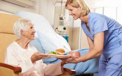 Baberos desechables para ámbitos sanitarios