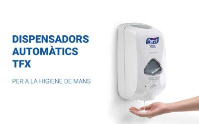 Dispensador automàtic TFX per a la higiene de mans