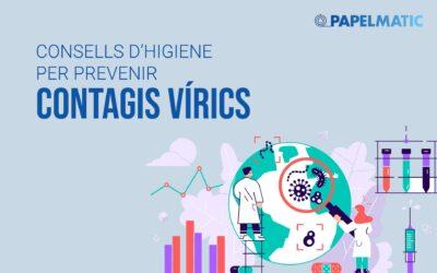 Infografia: Consells per prevenir contagis vírics
