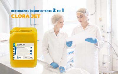 Detergente desinfectante 2 en 1 Clora Jet