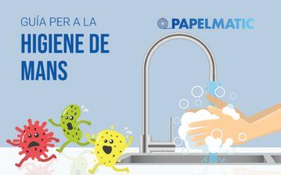 Infografia: Guia per a la higiene de mans
