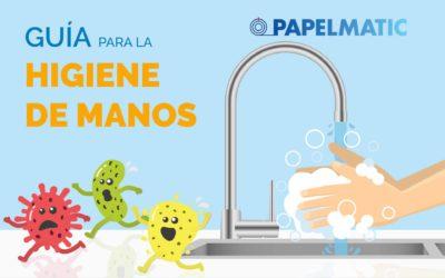Infografía: Guía para la higiene de manos
