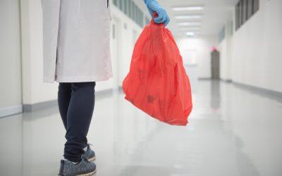 Material de neteja d'un sol ús contra els contagis