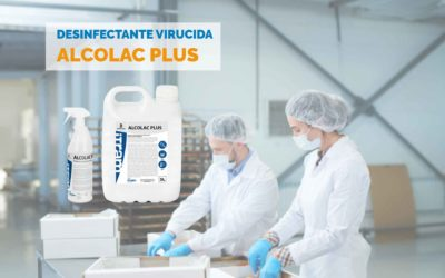 Desinfectante virucida Alcolac Plus