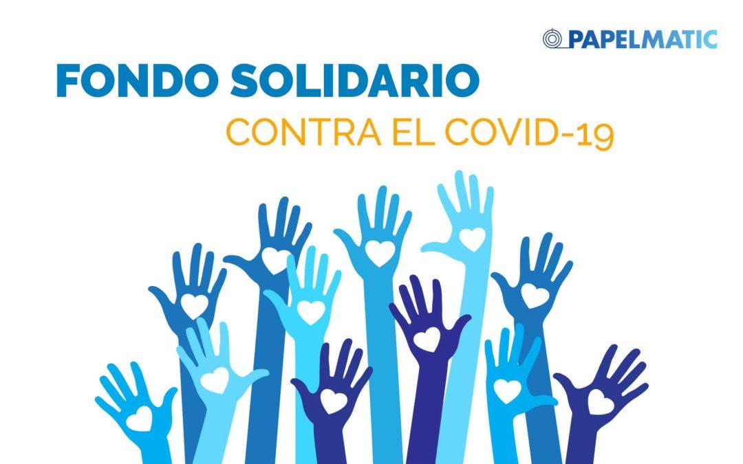 Papelmatic crea un fondo solidario contra el Covid-19