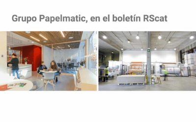 Grupo Papelmatic, en el Boletín RScat de la Generalitat de Catalunya