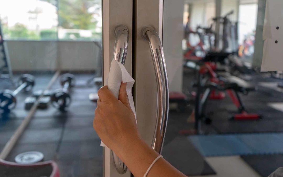 Paños de tejido no tejido para la limpieza en gimnasios