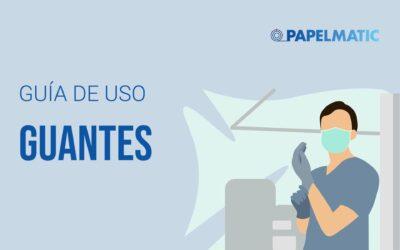 Infografía: Guía de uso sobre guantes