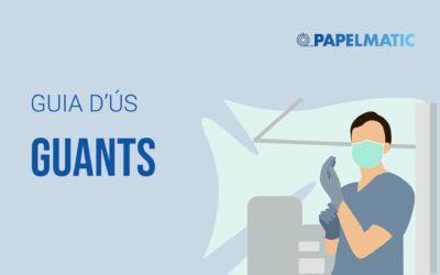 Infografia: Guia d'ús sobre guants