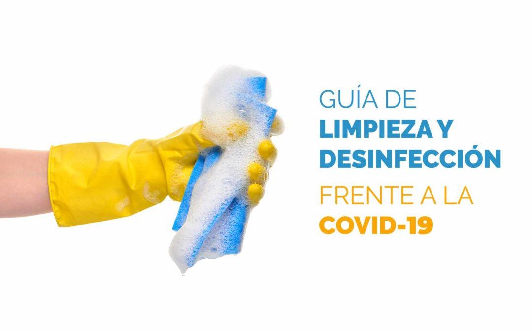 Guía de limpieza y desinfección frente a la Covid-19