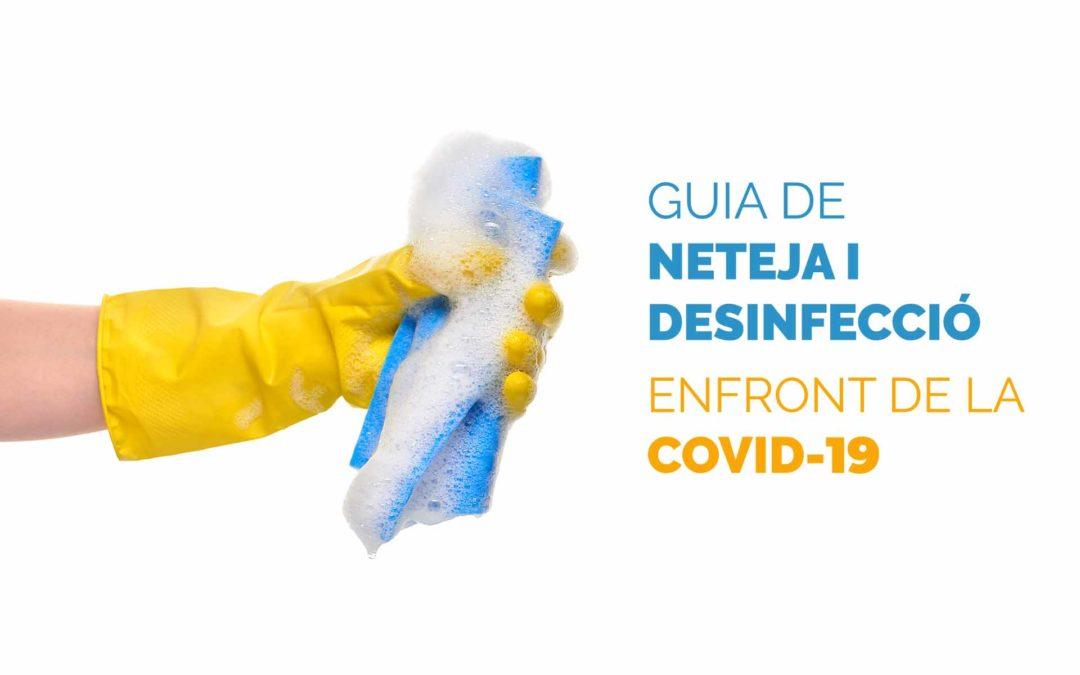 Guia de neteja i desinfecció enfront de la Covid-19