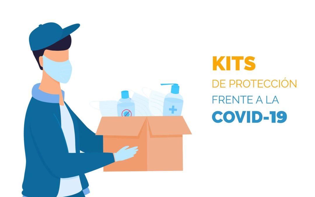 Kits de protección frente a la Covid-19